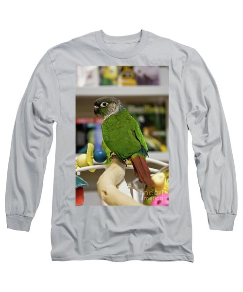 Green Cheek Conure Long Sleeve T-Shirt