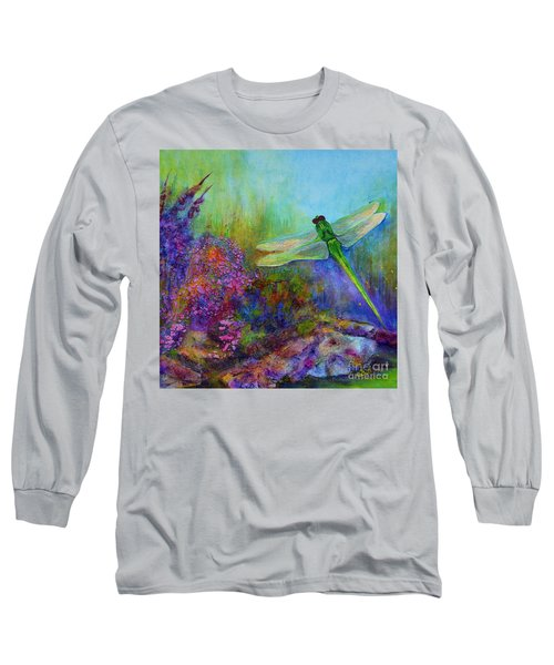Green Dragonfly Long Sleeve T-Shirt