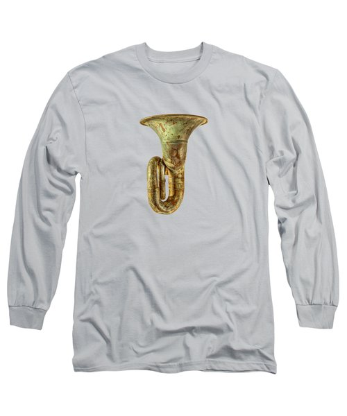 Green Horn Up Long Sleeve T-Shirt by YoPedro