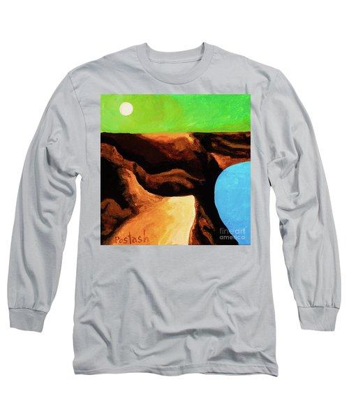 Green Skies Long Sleeve T-Shirt