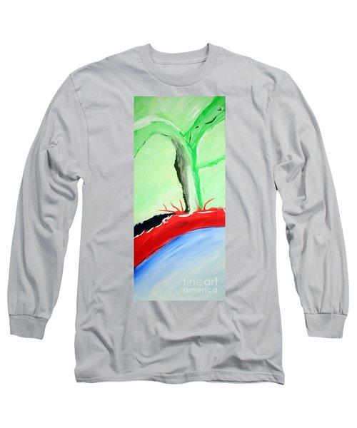 Green Tree Red Ridge Long Sleeve T-Shirt