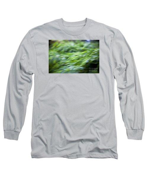Green Waterfall 1 Long Sleeve T-Shirt