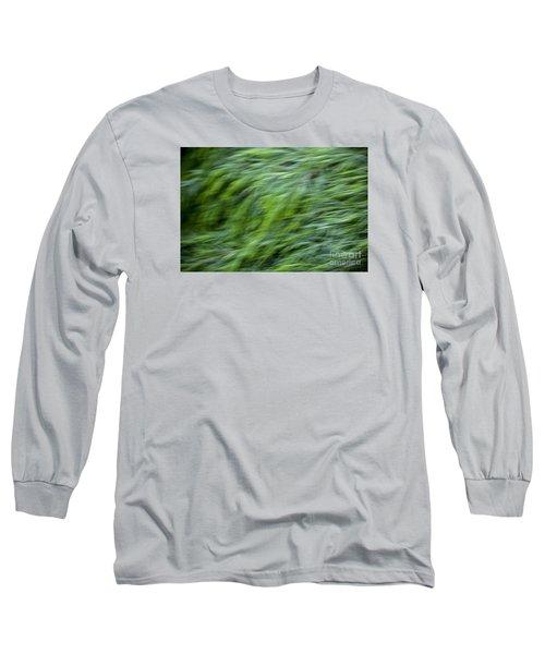 Green Waterfall 2 Long Sleeve T-Shirt