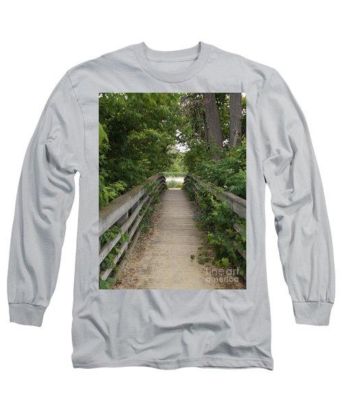 Greenery Bridge Long Sleeve T-Shirt