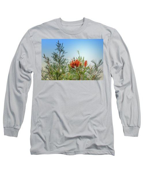 Grevillea With Moon Long Sleeve T-Shirt