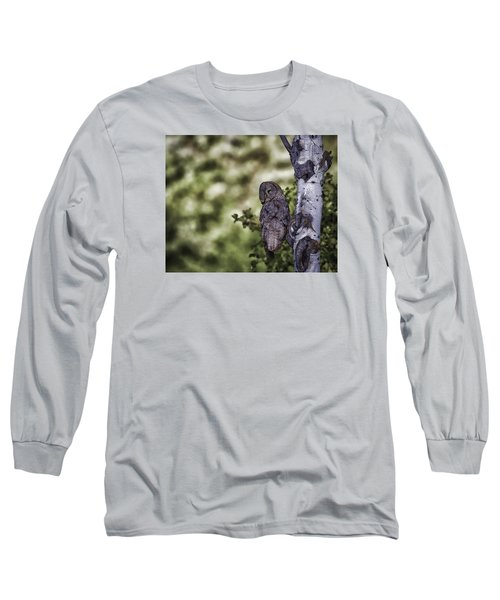 Grey Ghost Long Sleeve T-Shirt