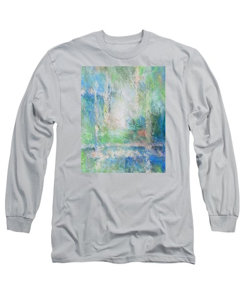 Grid Long Sleeve T-Shirt by Becky Chappell