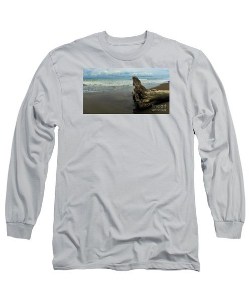 Long Sleeve T-Shirt featuring the photograph Guarding The Shore by Pamela Blizzard