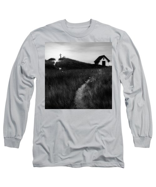 Long Sleeve T-Shirt featuring the photograph Guiding Light Square by Bill Wakeley