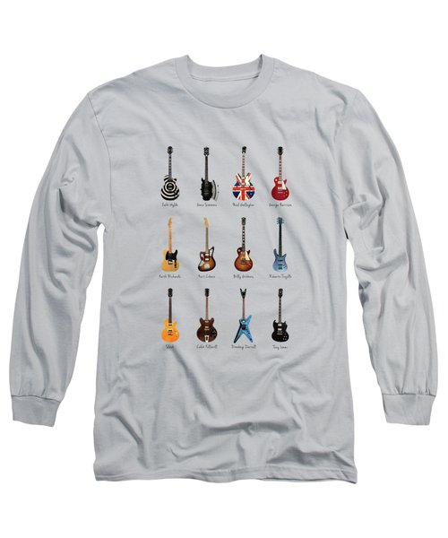 Guitar Icons No3 Long Sleeve T-Shirt
