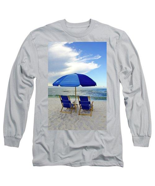 Gulf Coast Beach Oasis Long Sleeve T-Shirt