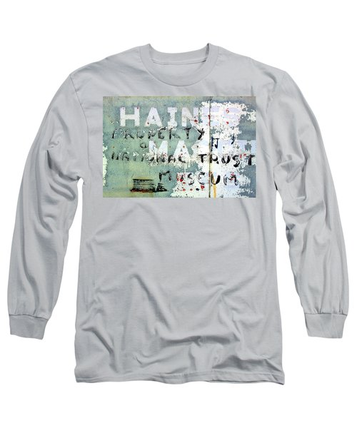 Haines Property Long Sleeve T-Shirt