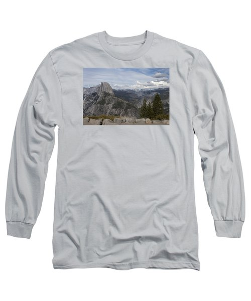 Half Dome Long Sleeve T-Shirt by Ivete Basso Photography