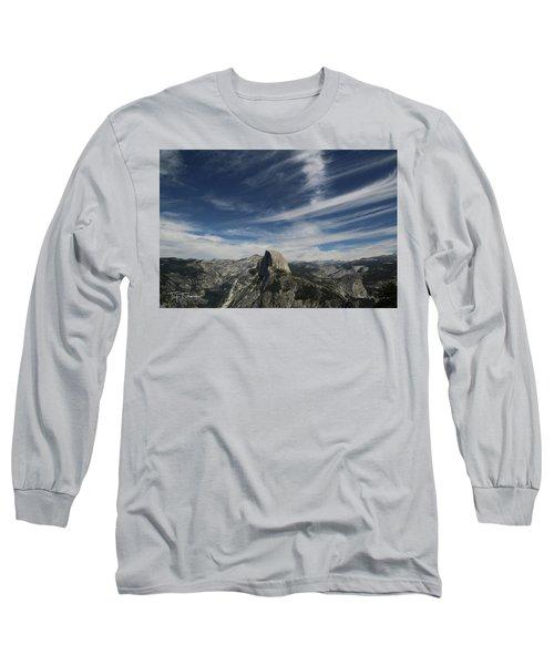 Half Dome Sky Long Sleeve T-Shirt