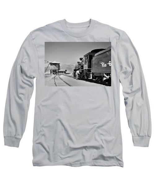 Half Way Long Sleeve T-Shirt