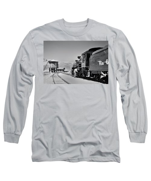 Half Way Long Sleeve T-Shirt