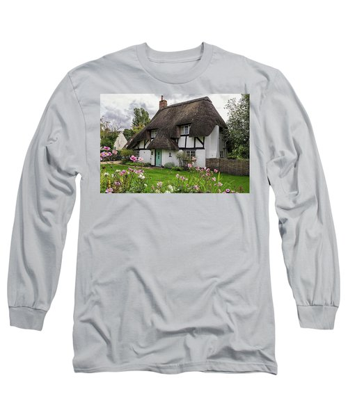 Hampshire Thatched Cottages 8 Long Sleeve T-Shirt