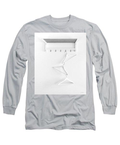 Long Sleeve T-Shirt featuring the photograph Hangers No. 2 by Joe Bonita