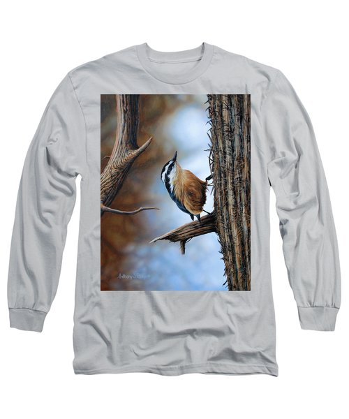 Hangin Out - Nuthatch Long Sleeve T-Shirt