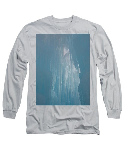 Hanging Icicles Long Sleeve T-Shirt by Catherine Gagne
