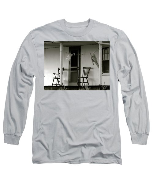 Hanging Out On The Porch Long Sleeve T-Shirt