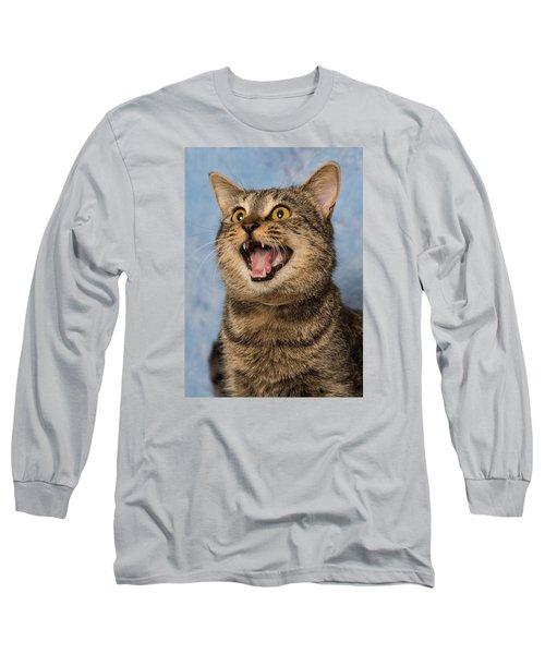 Happy Cat Long Sleeve T-Shirt