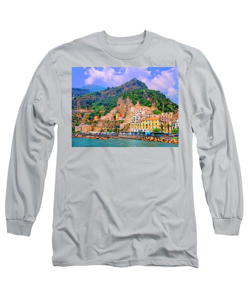 Harbor At Amalfi Long Sleeve T-Shirt