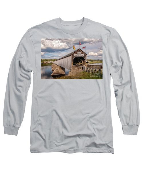 Hartland Covered Bridge Long Sleeve T-Shirt
