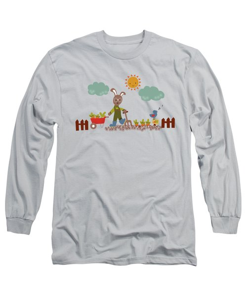 Harvest Time Long Sleeve T-Shirt by Kathrin Legg