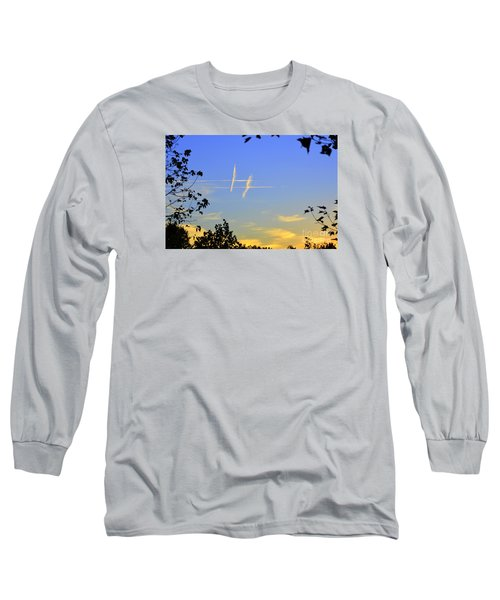 Hashtag Sky Long Sleeve T-Shirt