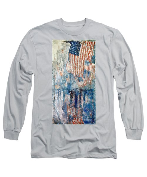 Hassam Avenue In The Rain Long Sleeve T-Shirt