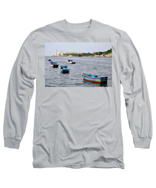 Havana Harbor Long Sleeve T-Shirt