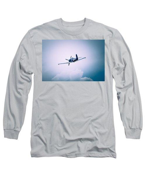 Hawker Sea Fury Fb11 Long Sleeve T-Shirt by Thomas M Pikolin