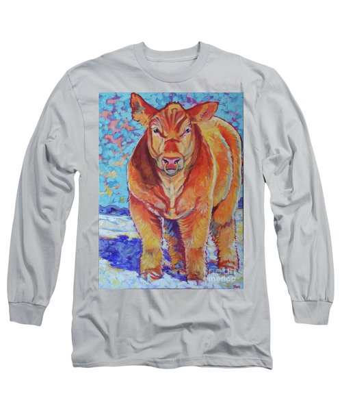 Long Sleeve T-Shirt featuring the painting Hawkeye by Jenn Cunningham