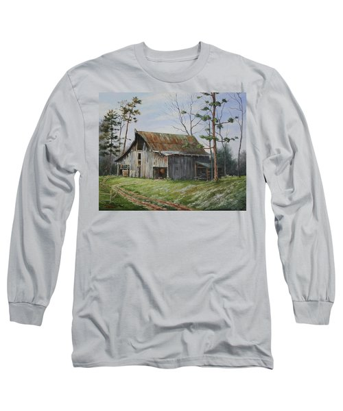 Hawks At The Barn Long Sleeve T-Shirt