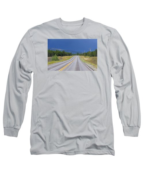 Long Sleeve T-Shirt featuring the photograph Heading Into The Storm by Susan Crossman Buscho