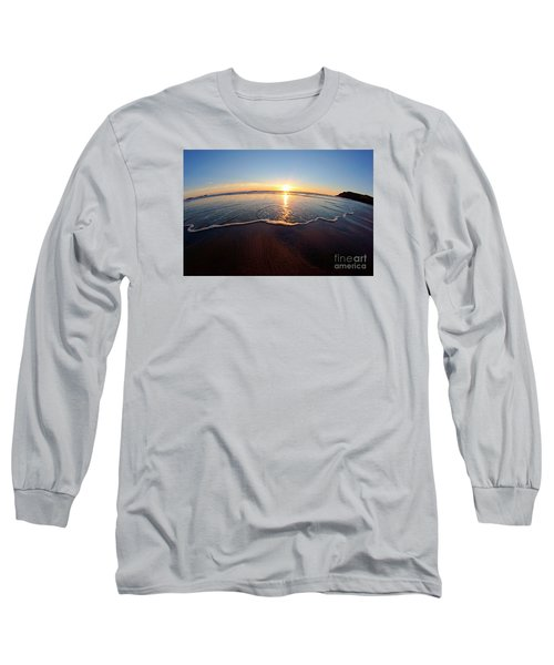 Heart Shape Wave Long Sleeve T-Shirt