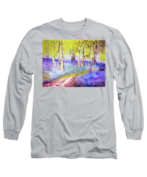 Heather Glade Long Sleeve T-Shirt by Jasna Dragun