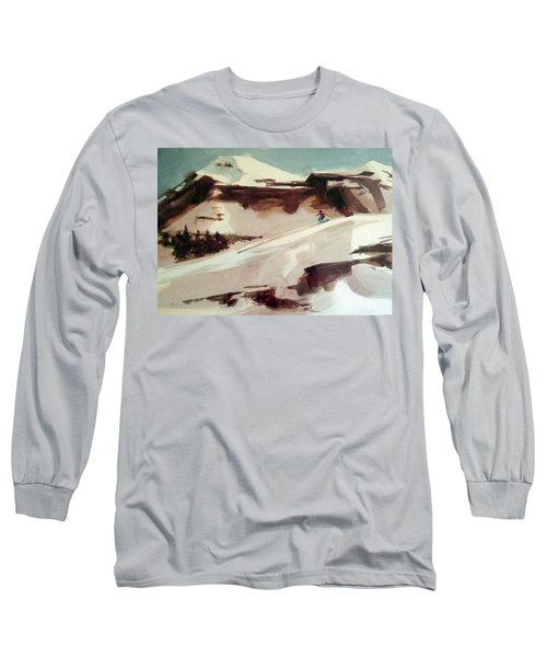 Long Sleeve T-Shirt featuring the painting Heavenly by Ed Heaton