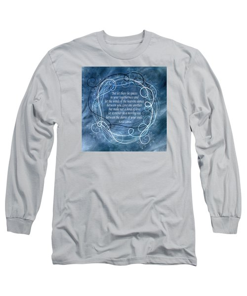 Long Sleeve T-Shirt featuring the digital art Heavens Dance by Angelina Vick
