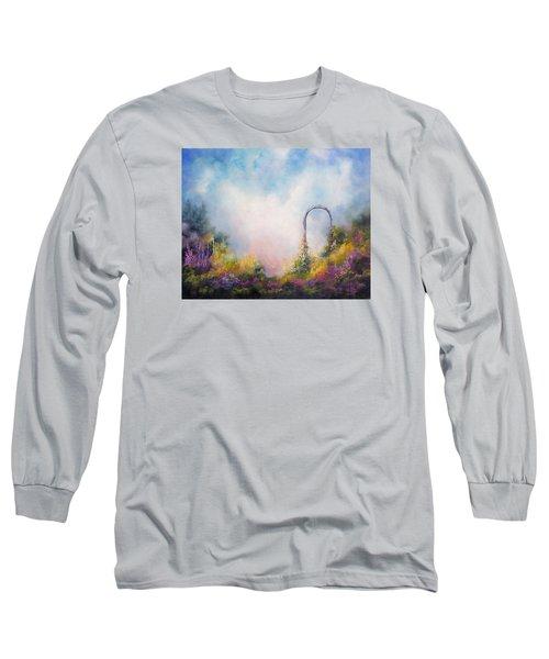 Heaven's Gate Long Sleeve T-Shirt by Marina Petro