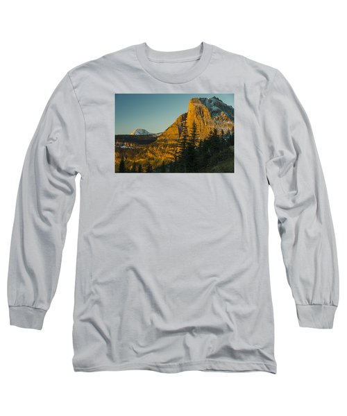 Heavy Runner Mountain Long Sleeve T-Shirt by Gary Lengyel