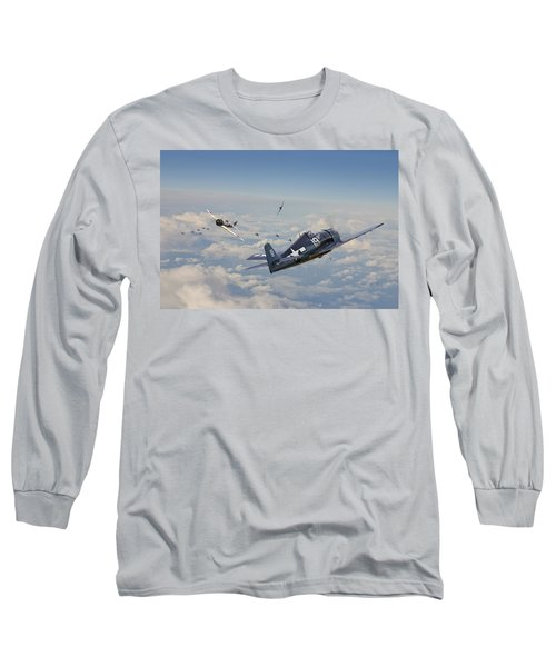 Hellcat F6f - Duel In The Sun Long Sleeve T-Shirt