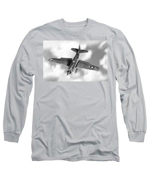 Helldiver Long Sleeve T-Shirt by Douglas Castleman