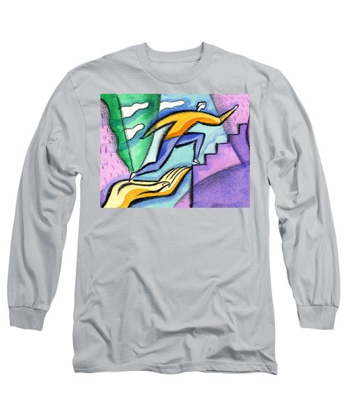 Helping Hand And Career Long Sleeve T-Shirt