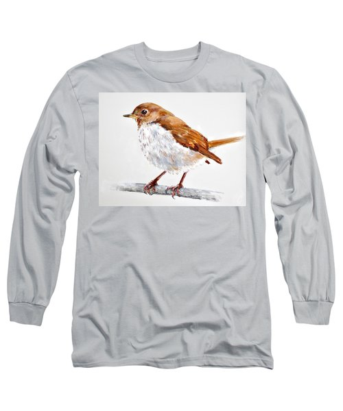 Hermit Thrush - Best 2017 - Acrylic Long Sleeve T-Shirt