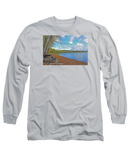 Fall Picnic In Maine Long Sleeve T-Shirt