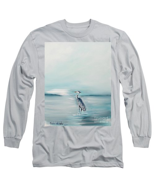 Heron Silence Long Sleeve T-Shirt