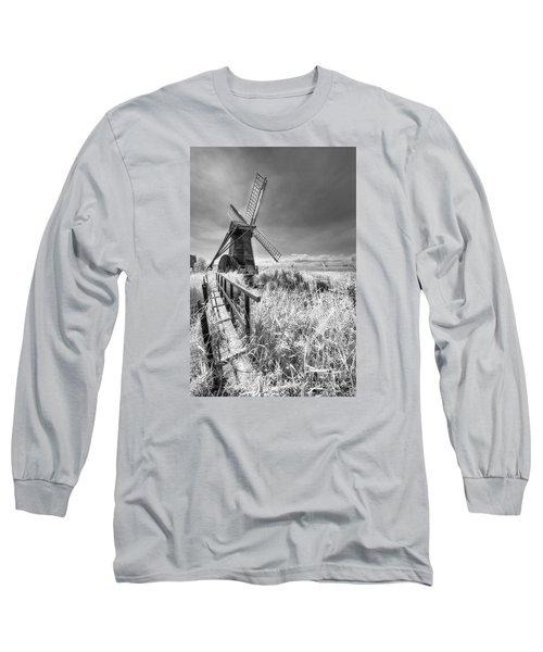Herringfleet Pump Norfolk Uk Long Sleeve T-Shirt by Jack Torcello