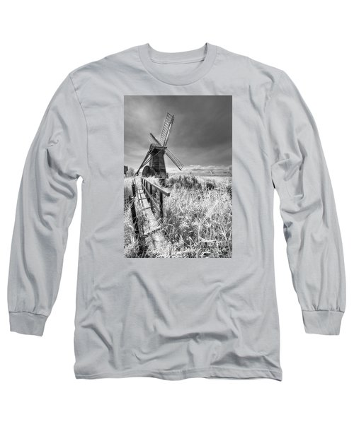 Herringfleet Pump Norfolk Uk Long Sleeve T-Shirt